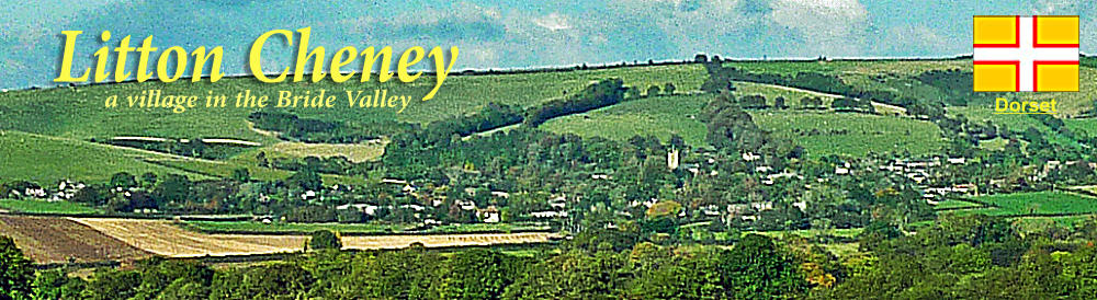 a village in the Bride Valley Litton Cheney Dorset